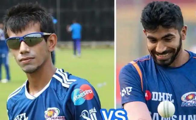 First Get King Kohli Out,Yuzvendra Chahal Trolls Mumbai Indians - Sakshi