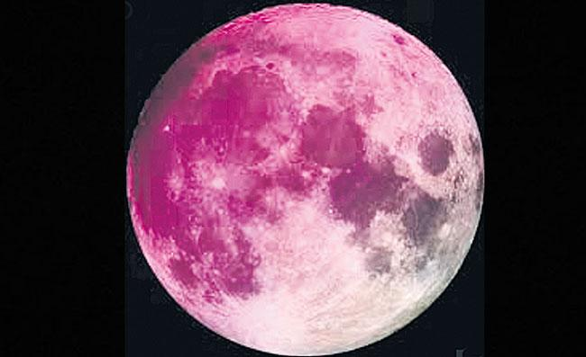 Super Pink Moon Will Take Your Breath Away on April 8 - Sakshi