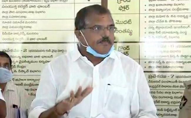 No Positive Coronavirus Cases In Vizianagaram Says Botsa Satyanarayana - Sakshi