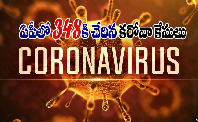 Coronavirus Positive Cases Rises To 348 In Andhra Pradesh - Sakshi