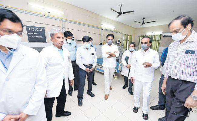 Minister KTR Said The Lockdown Was The Right Approach To Combat The Corona Virus - Sakshi