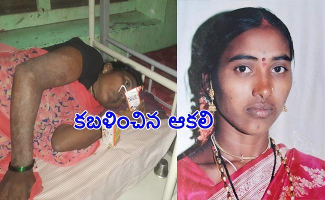 Woman Worker Loss in Karnataka After Walking Three Days - Sakshi