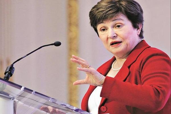 IMF Chief Says World Faces Worst Economic Fallout  - Sakshi