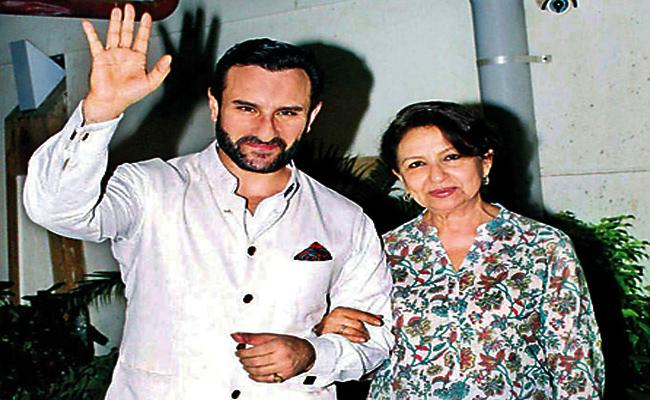 Saif Ali Khan Worried About Her Mother Health in Delhi - Sakshi