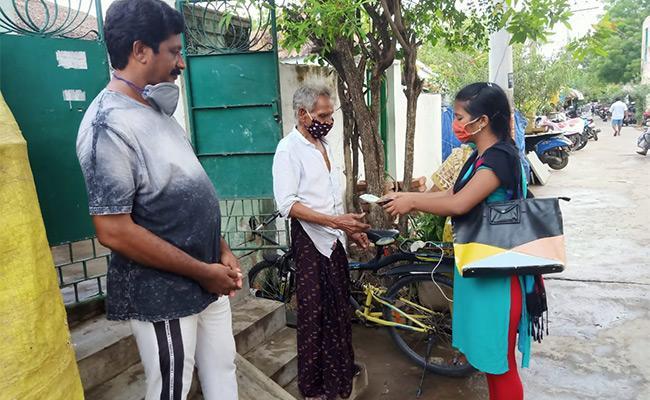 May Month Pension Distribution Begins in Andhra pradesh - Sakshi