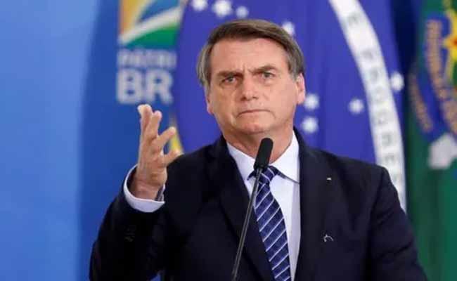 Jair Bolsonaro Says Less Chance of Football Players Dying of Covid 19 - Sakshi