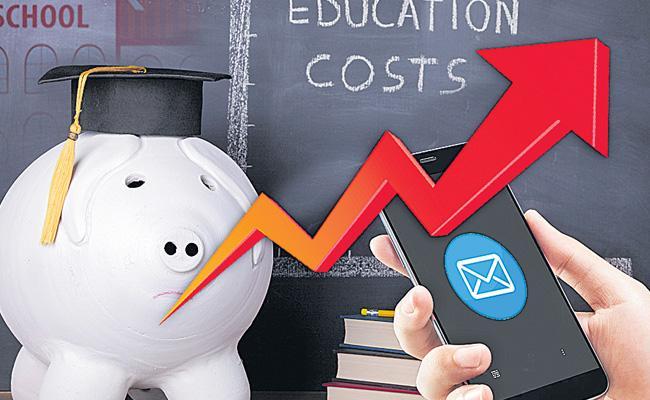 Parents Getting Worried About School Fees In Telangana - Sakshi
