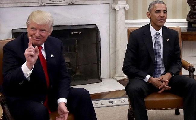 Barack Obama Web Call Audio Leaked - Sakshi