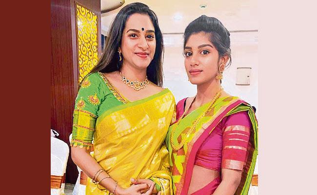 Mothers Day Special : SurekhaVani And her Daughter Supritha - Sakshi