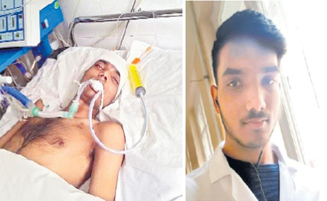 Man Deceased in Ukraine due to brain dead - Sakshi