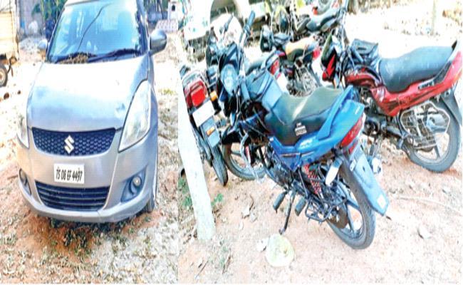 Nalgonda Police Corruption in Alcohol Sales in Block Case - Sakshi