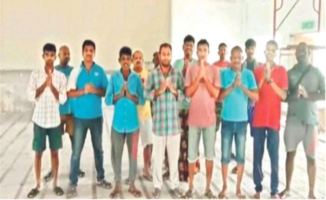 Telangana Migrant Workers Stuck in Malaysia Lockdown - Sakshi