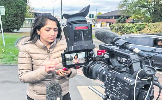 BBC Senior Reporter Seema Kotecha In Sakshi Family
