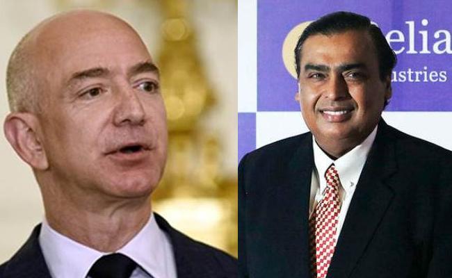 mazon  eff Bezos may become world first trillionaire by 2026 : Mukesh Ambani by 2033 - Sakshi