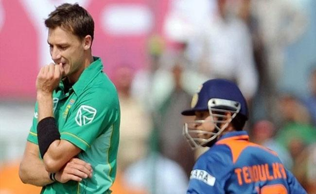 Dale Steyn Comments About Sachin Tendulkar Double Hundred In Gwalior - Sakshi