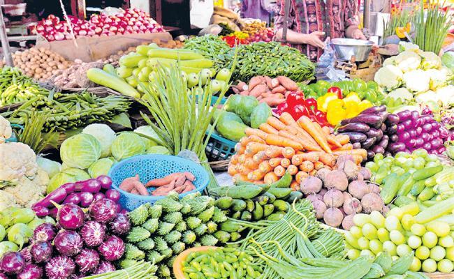 Vegetables without shortage - Sakshi
