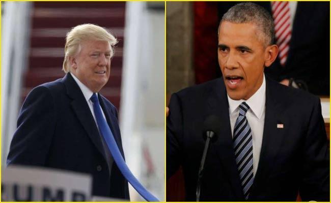 Barack Obama Criticized President Donald Trump - Sakshi