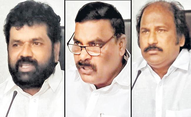 YSRCP Leaders Fires On Chandrababu - Sakshi