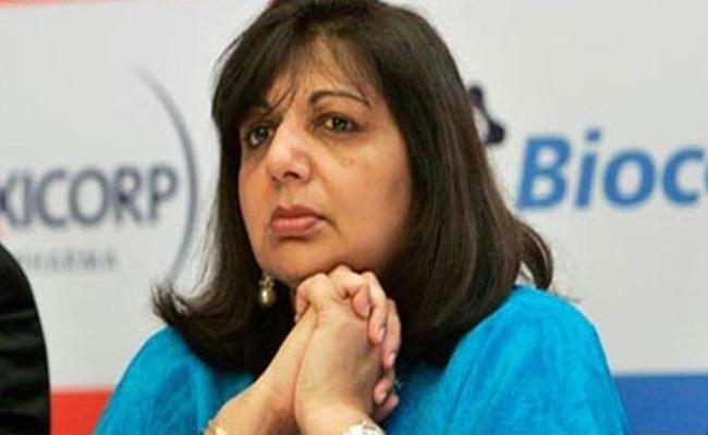 Ashamed to have abandoned migrans says Biocon  Kiran Mazumdar Shaw - Sakshi