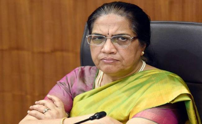 Nilam Sahni Review Meeting On Atmanirbhar Bharat Abhiyan In Amaravati - Sakshi
