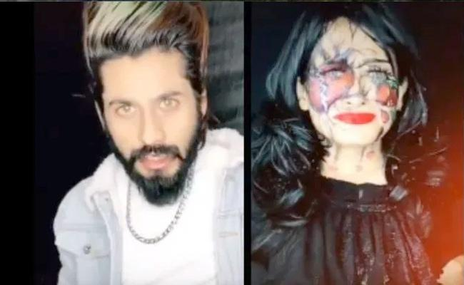 Tiktok Star Faizal Siddiqui In Trouble After Shares Acid Attack Video - Sakshi