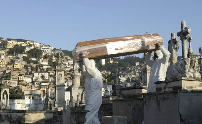 Brazil Register Over 1000 Covid 19 Deceased In 24 Hours - Sakshi