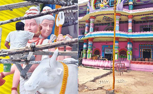 Doughts on Khairathabad Ganesh Festival Hyderabad - Sakshi