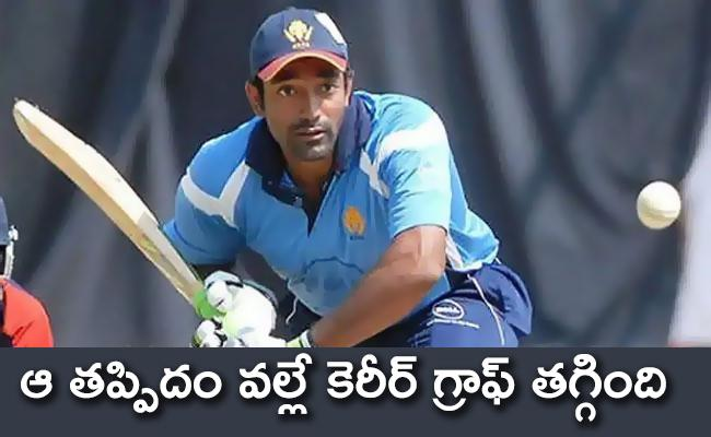 Robin Uthappa Believes It Could A Mistake With Batting Technique At Age Of 25 - Sakshi