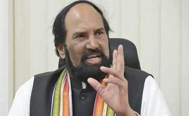 Uttam kumar: KCR Should Say Apologizes To Farmers - Sakshi