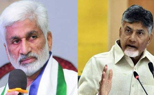 Vijaya Sai Reddy Criticized Chandrababu Naidu On Twitter - Sakshi