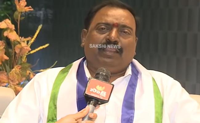MP Balli Durga Prasad Slams Chandrababu In Tirupati - Sakshi