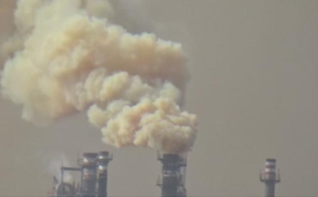 Smoke From HPCL Creates Panic in Visakhapatnam - Sakshi