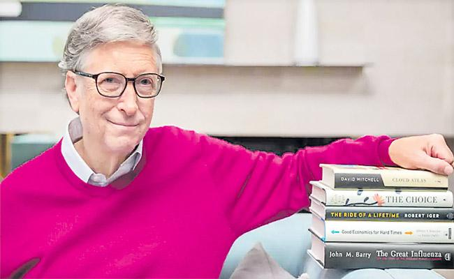 Bill Gates Recommended These Five Books For This Summer - Sakshi