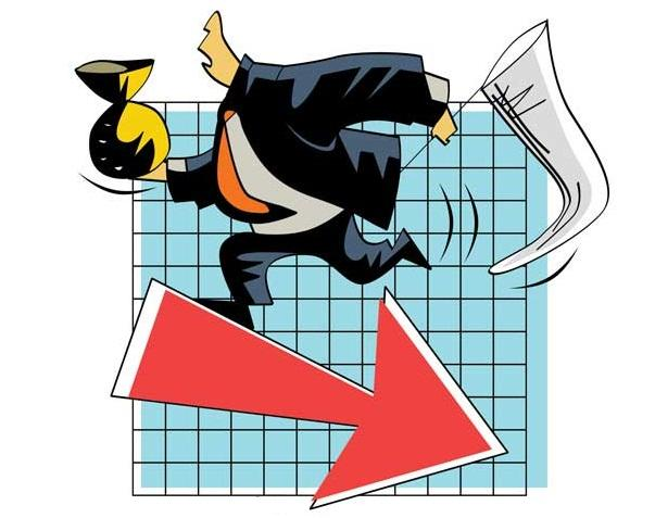 Foreign ownership of top stocks lowest since Dec 2013 - Sakshi