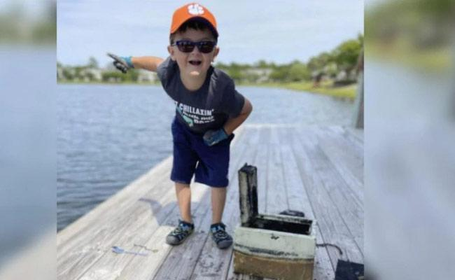 6 Year Old Boy Solves Robbery Case By Fishing In South Carolina - Sakshi