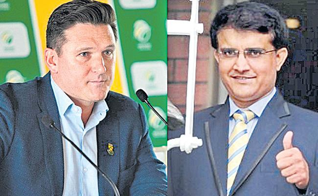 Sourav Ganguly Focused On ICC Chairman Post - Sakshi