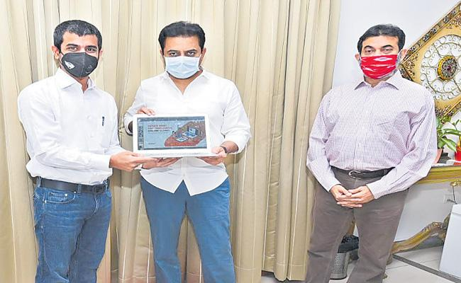 Online Video Clinic Software Launched By The KTR - Sakshi