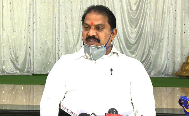 Malladi Vishnu Comments On TDP About Blaming Current Charges In Vijayawada - Sakshi