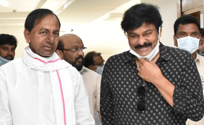 Megastar Chiranjeevi Thank To CM KCR Over Meeting With KCR - Sakshi