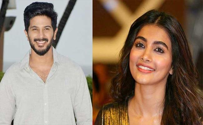 Pooja Hegde To Be Co Star With Dulquer Salmaan - Sakshi