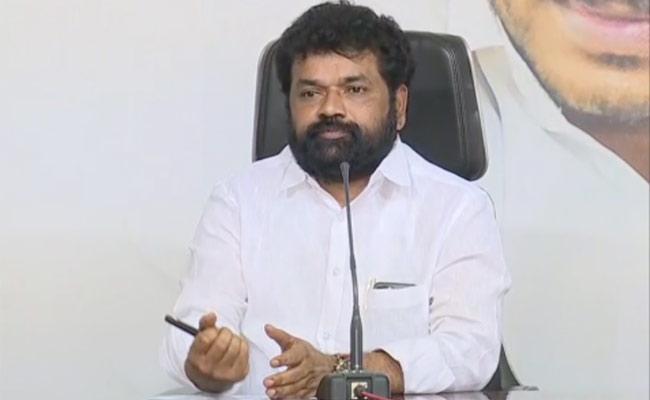 YSRCP MP Nandigam Suresh Fires On ChandraBabu Naidu - Sakshi