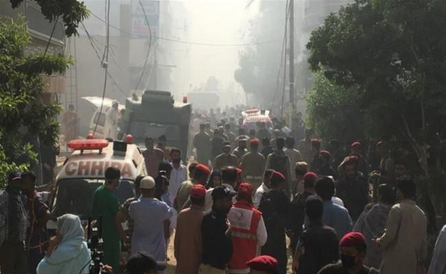 Bank Of Punjab President Zafar Masood Survives PIA Plane Crash In Karachi - Sakshi