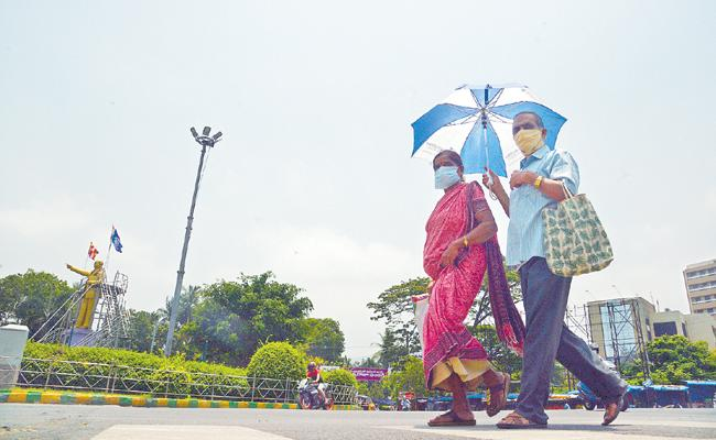 Rising temperatures in Andhra Pradesh - Sakshi