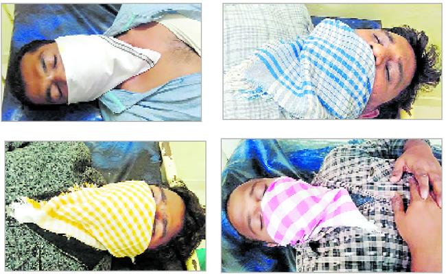 TDP Leaders Attack On Grama Volunteer - Sakshi