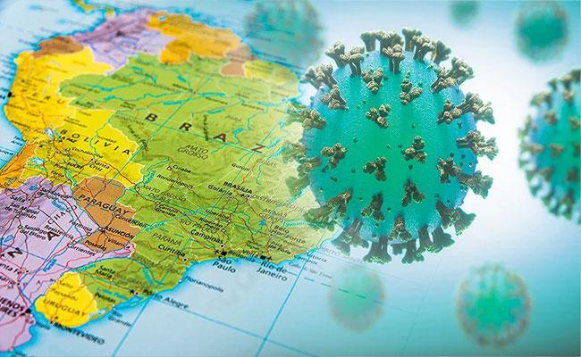 Brazil Jumps To World Number 2 In Covid  Cases Behind The US - Sakshi