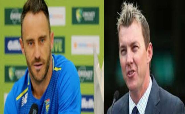 Used To Spit On My Fingers Before Catching Balls, Du Plessis - Sakshi