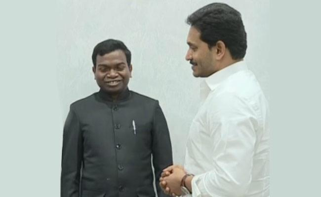 Katta Simhachalam Comments After Meeting With CM Jagan - Sakshi