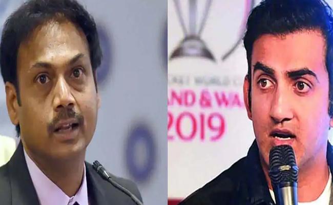 Gautam Gambhir Slams MSK Prasad For His 3D Comment - Sakshi