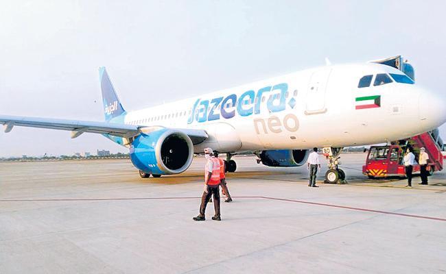 NRIs Arrivals from Kuwait to Andhra Pradesh - Sakshi