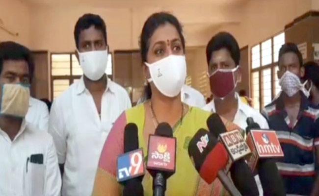 MLA Roja praises YS Jagan one year Administration - Sakshi